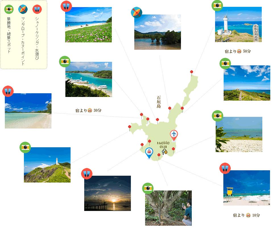 石垣島観光スポット