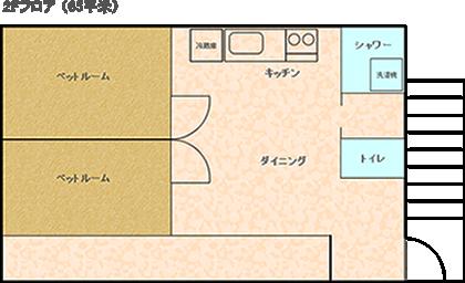 石垣島の宿2F
